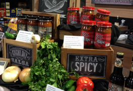 Total Wine & More craft salsa demo